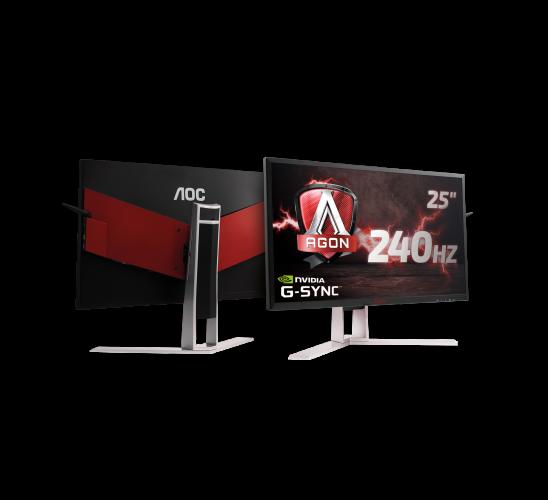 gamescom 2017: AOC prezintă un monitor AGON super-rapid de 240 Hz cu G-SYNC