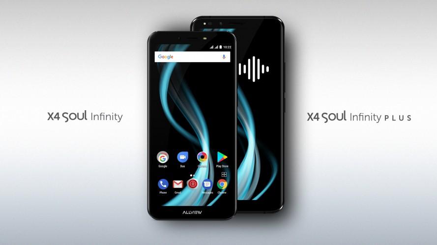 Allview transformă interacțiunea cu telefonul prin noile flagship-uri,  X4 Soul Infinity și X4 Soul Infinity Plus