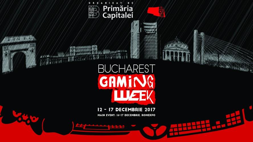 Bucharest Gaming Week:  În decembrie, Bucureștiul devine capitala gamingului