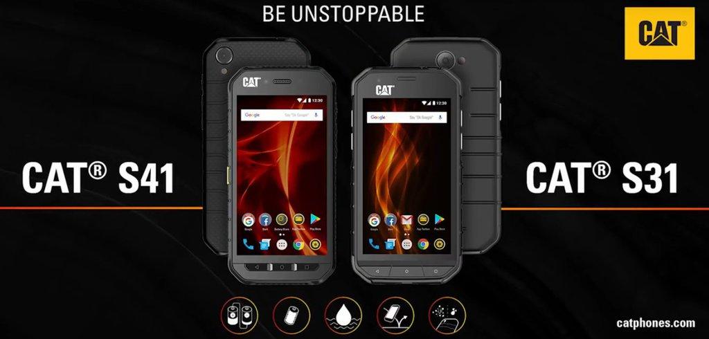 Build to survive! Noile telefoane smart CAT®® S41 și CAT®® S31 - Partajaţi energia cu noul smartphone robust CAT®® S41 -
