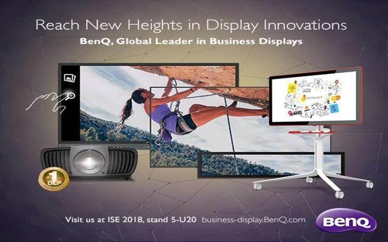 BenQ invită vizitatorii ISE 2018 să descopere cele mai inovatoare dispozitive şi tehnologii de afişaj