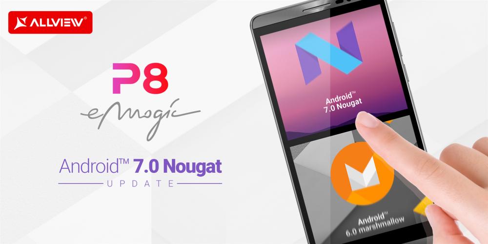 Update-uri software pentru telefoanele P8 eMagic și P7 PRO