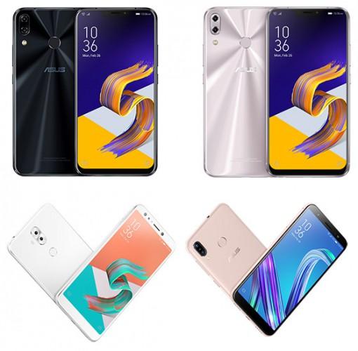 ASUS dezvăluie la MWC 2018 noua serie de telefoane inteligente ZenFone 5