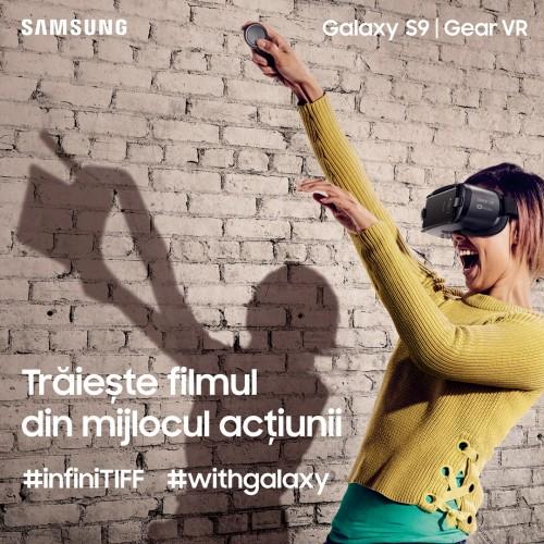 infiniTIFF 2018: Creativitatea și inovația, aduse mai aproape de Samsung în cadrul Festivalului Internațional de Film Transilvania