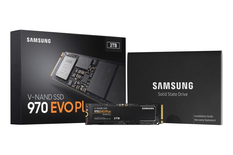 Samsung Electronics stabilește noi niveluri de performanță pentru  SSD-urile NVMe, odată cu lansarea 970 EVO Plus 970 EVO Plus oferă îmbunătățiri semnificative în ceea ce privește performanța și eficiența energetică pentru aplicațiile care necesită un trafic ridicat de date