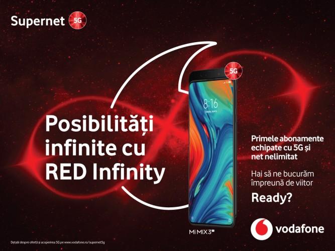 Vodafone este primul operator care lanseaza abonamente 5G in  Romania